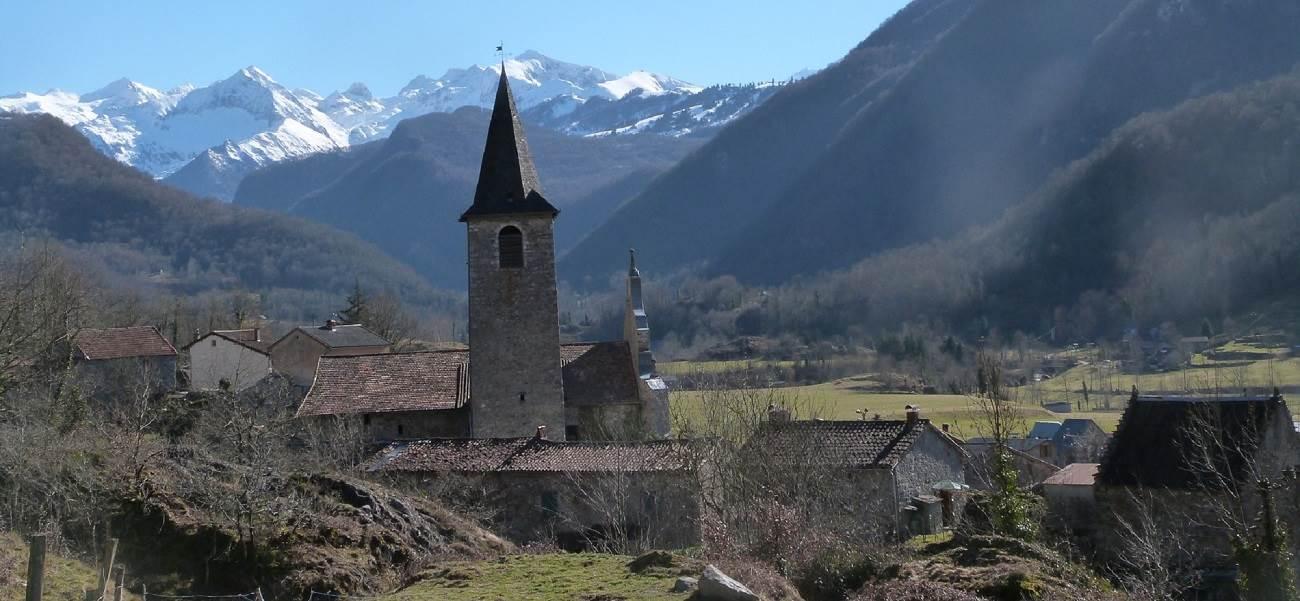 Village d Ercé en Ariège